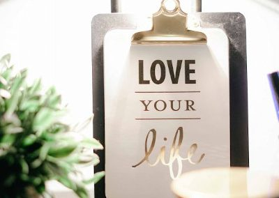 love your life clipboard